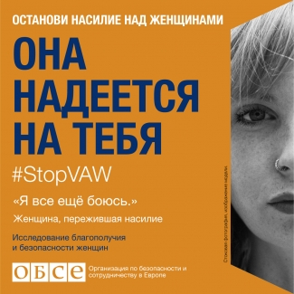 #StopVAW She Is Counting On You Banner for Moldova in Russian